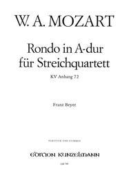 Rondo in A Major K464a(Anh.72)
