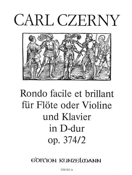 Rondo facile et brillant Op. 374 No. 2