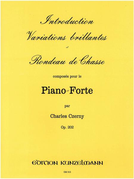 Introduction Variations billantes et Rondeau