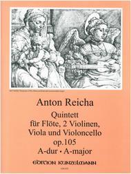 Flute Quintet in A Major, Op. 105