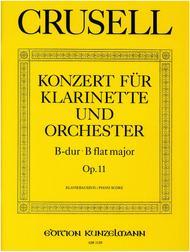Clarinet Concerto in B flat Major Op. 11