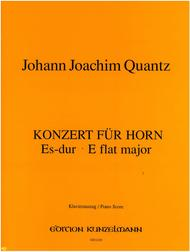 Concerto in Eb Major Op. 7 No. 9 for Horn, Strings, and Basso continuo