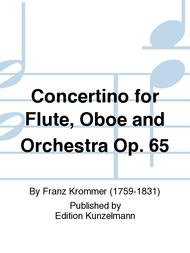 Concertino for Flute, Oboe and Orchestra Op. 65