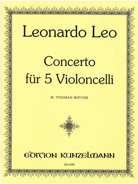 Concerto for 5 Cellos