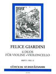 Duos (6) in 2 Volumes, Vol. 1