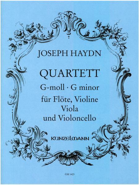 Flute Quartet in g minor
