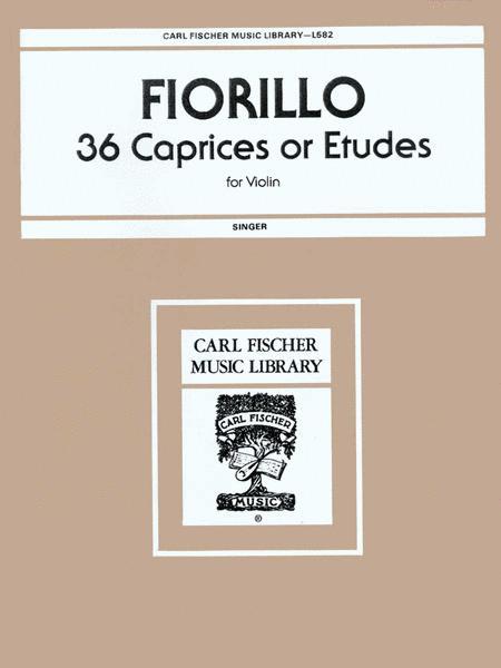 36 Caprices Or Etudes