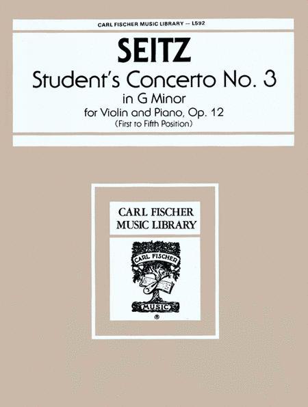 Student's Concerto No. 3