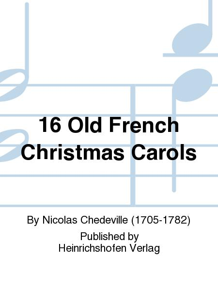preview 16 old french christmas carols
