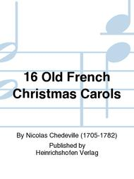 16 old french christmas carols sheet music by nicolas chedeville sheet music plus