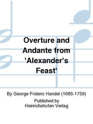 Overture and Andante from