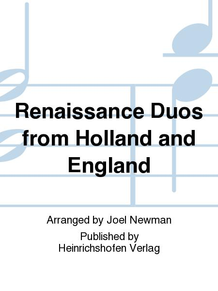 Renaissance Duos from Holland and England