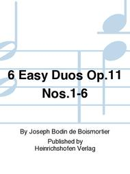 6 Easy Duos Op. 11 Nos. 1-6