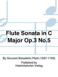 Flute Sonata in C Major Op. 3 No. 5