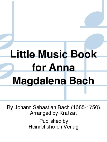 Little Music Book for Anna Magdalena Bach