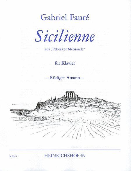 Sicilienne (from Pelleas et Melisande)