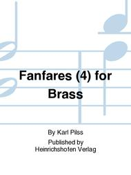 Fanfares (4) for Brass