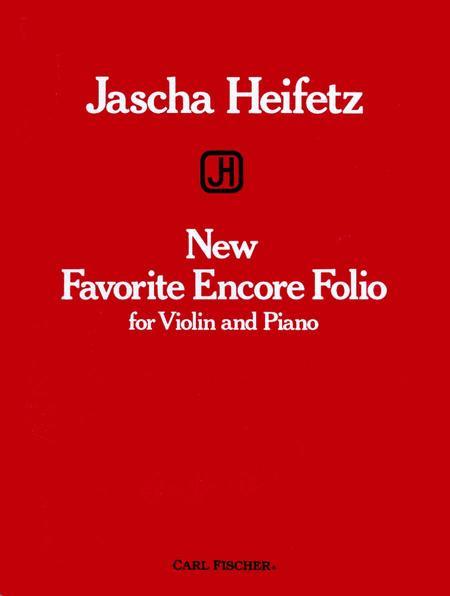 New Favorite Encore Folio