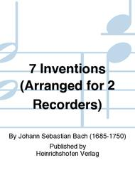 7 Inventions (Arranged for 2 Recorders)