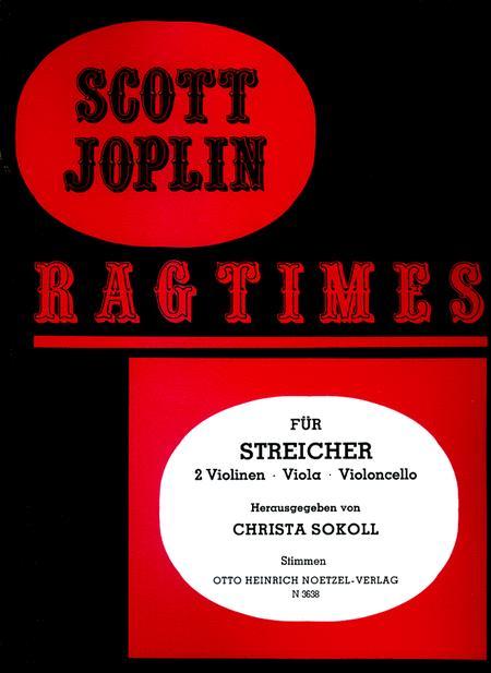 Ragtimes for String Quartet (4)