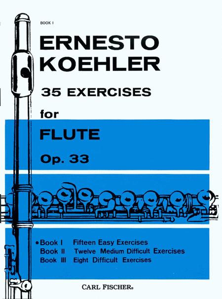 35 Exercises for Flute, Op. 33 - Book I