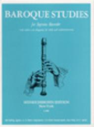 Baroque Studies for the Soprano Recorder