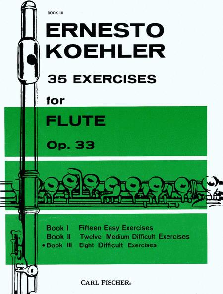35 Exercises for Flute, Op. 33 - Book III