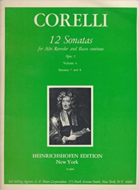 Sonatas (12) Op. 5, Vol. 4