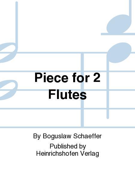 Piece for 2 Flutes