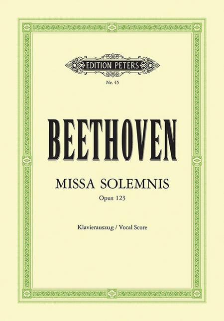 Missa solemnis in D Major Op. 123