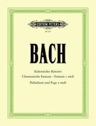 Italian Concerto Chromatic Fantasy and Fugue