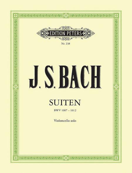 Suites (Sonatas) For Solo Cello