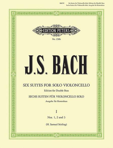 Suites (Sonatas) - Arranged For Double Bass