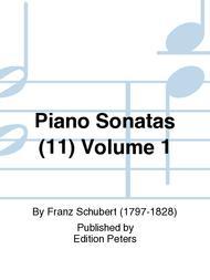 Piano Sonatas (11) Volume 1