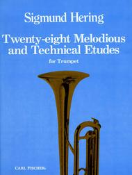 Twenty Eight Melodious And Technical Etudes