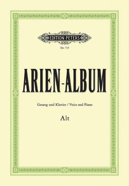 Aria Album - Famous Arias for Contralto
