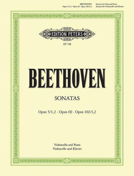 Sonatas - Cello and Piano (Complete)
