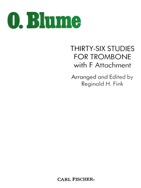 Thirty-Six Studies