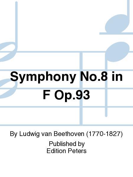 Symphony No. 8 in F Op. 93