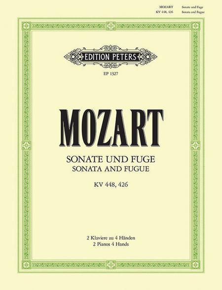 Sonata in D K448 / Fugue in c minor K426