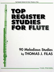Top Register Studies For Flute