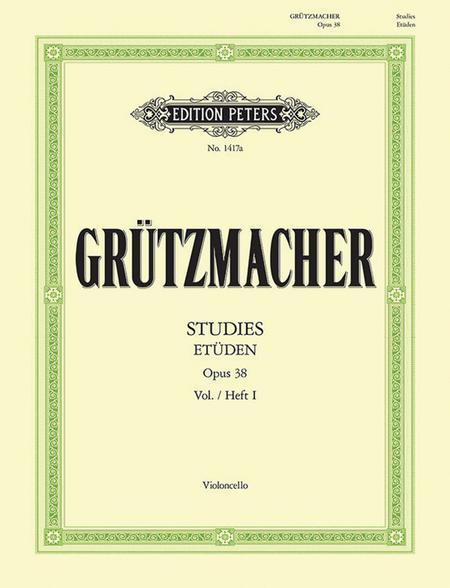 24 Studies for Violoncello Op. 38 Vol. 1