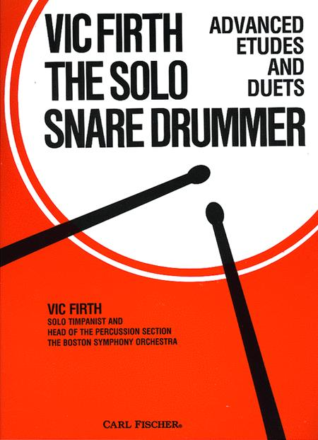 The Solo Snare Drummer Sheet Music By Vic Firth - Sheet