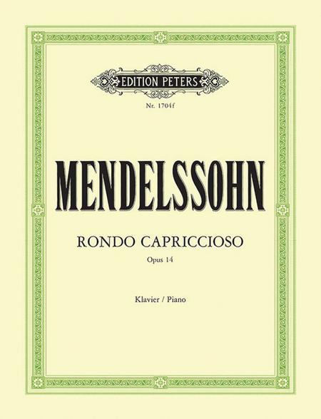 Rondo Capriccioso in E Major Op. 14 (1824)