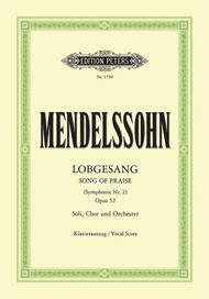 Lobgesang (Song of Praise) Op. 52