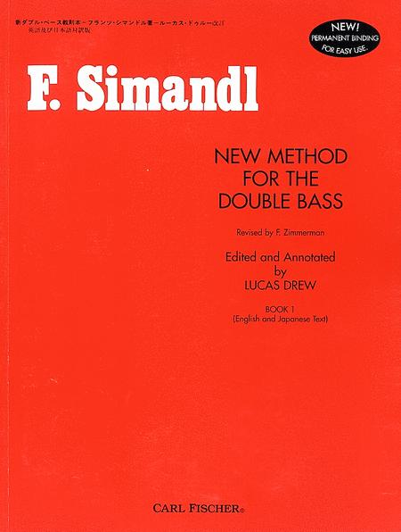 New Method for the Double Bass - Book I