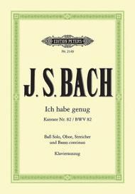 Cantata No.82 (Ich habe genug) - BWV 82