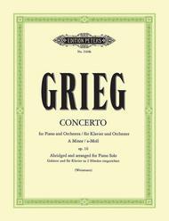 Piano Concerto (Abridged And arranged For Piano Solo)