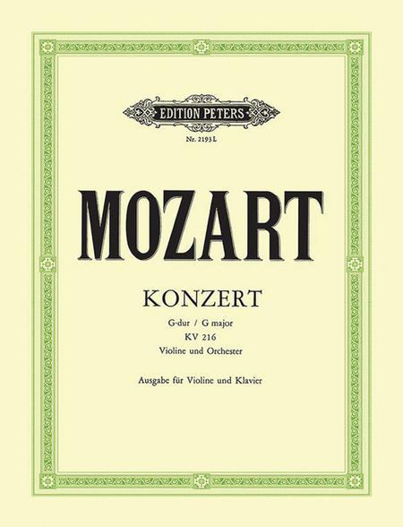 Concerto No. 3 in G K216