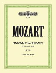 Sinfonia Concertante in Eb Major K364 for Violin, Viola, and Orchestra